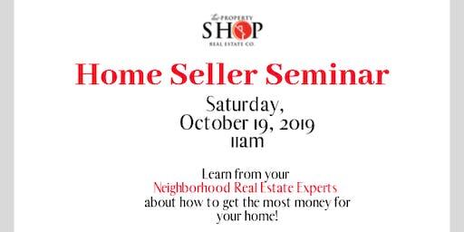 The Property Shop present - Seller Seminar