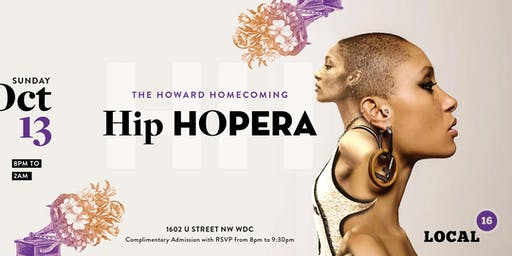 The  2019 Howard Homecoming Hip Hopera  Sunday Finale