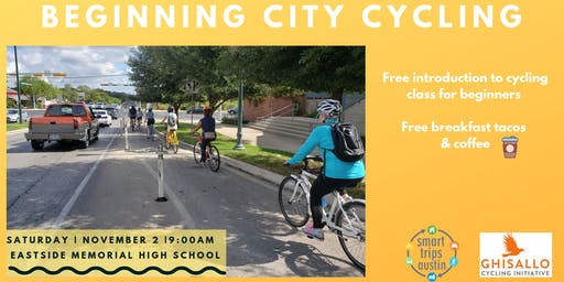 Smart Trips Austin + Ghisallo Cycling Initiative = Beginning City Cycling