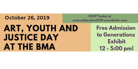 Art, Youth and Justice Day at the Baltimore Museum of Art tickets