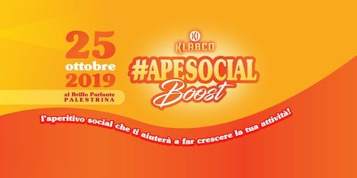 #ApeSocial Boost