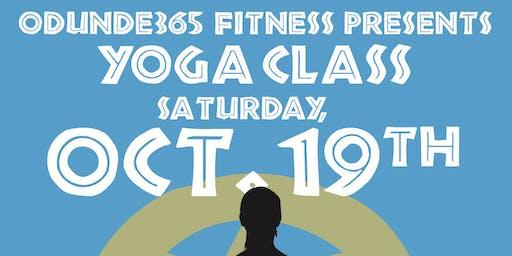 ODUNDE365 FITNESS PRESENTS: SATURADAY YOGA CLASS
