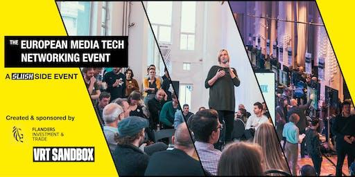 Slush Side Event: European Media Tech Ecosystem Networking Event