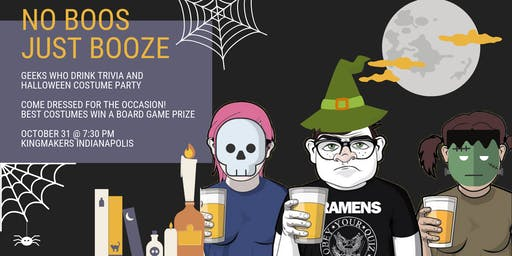Geeks Who Drink Pub Trivia & Halloween Costume Party (INDIANAPOLIS)