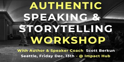 Authentic Speaking and Storytelling Workshop (Dec. '19)