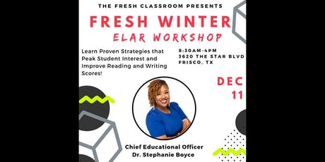 FRESH Winter ELAR Workshop tickets