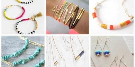 DIY Holiday Jewelry Making tickets