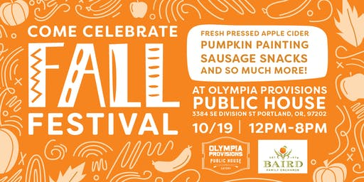 Olympia Provisions Fall Festival