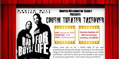COUSIN THEATER TAKEOVER (BAD BOYS)