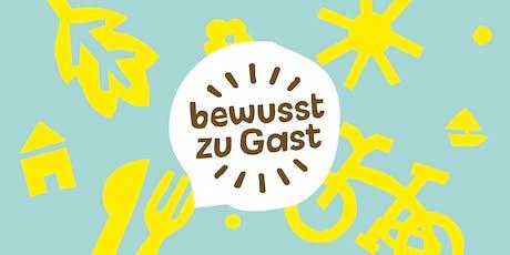 1. Brandenburger Herbstakademie - Nachhaltiger Tourismus in Schutzgebieten Tickets