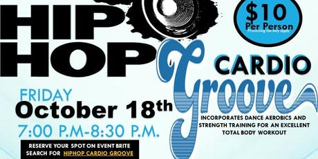 HIPHOP CARDIO GROOVE tickets