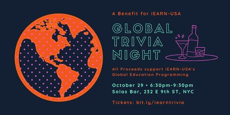 Global Trivia Night: A Benefit for iEARN-USA tickets