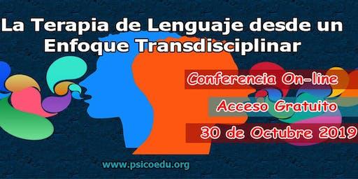 La terapia de lenguaje desde un enfoque Transdisciplinar