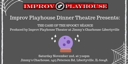 Halloween Murder Mystery: The Case of the Spooky Seance