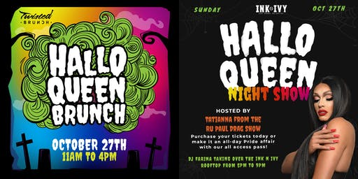 HalloQueen Pride Brunch  and Night Party