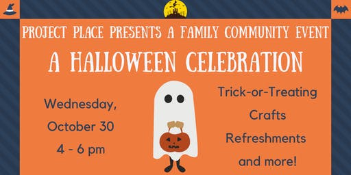 Project Place Halloween Celebration