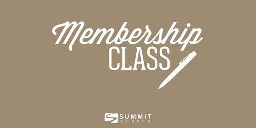 Covenant Membership Class Oct 27th 2019