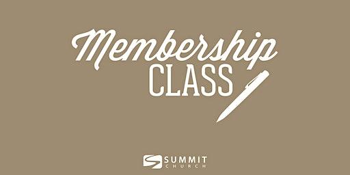 Covenant Membership Class Jan 26th, 2020