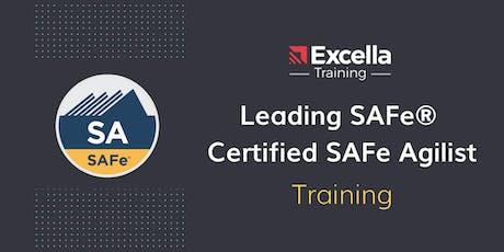 Leading SAFe - Certified SAFe 4 Agilist (SA) in Washington, DC tickets