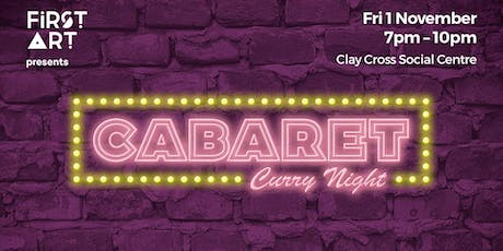 Cabaret Curry Night tickets