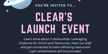 CLEAR Launch Party! tickets
