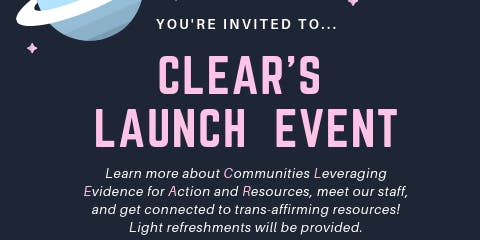 CLEAR Launch Party!