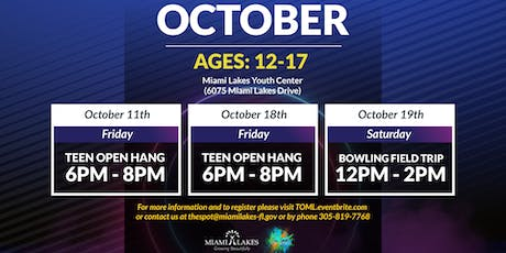 Teen Open Hang tickets