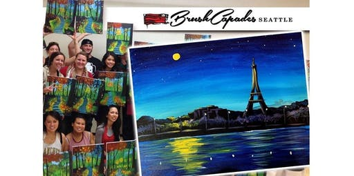 Viva France! NEW Eiffel Tower Painting! (2019-12-06 starts at 7:00 PM)