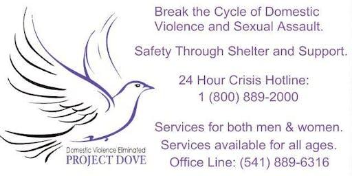 Project DOVE Candlelight Vigil