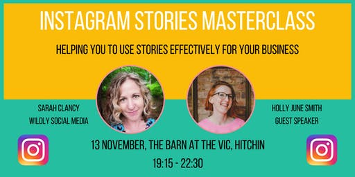 Instagram Stories for Business Masterclass