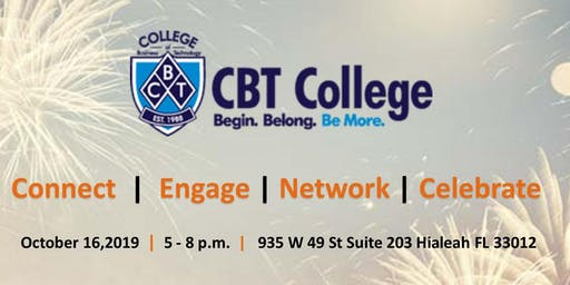 CBT College 31st Anniversary Connect  |  Engage | Network | Celebrate