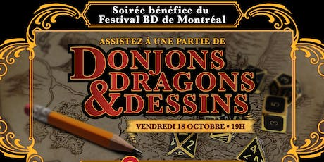 Donjons, Dragons & Dessins billets