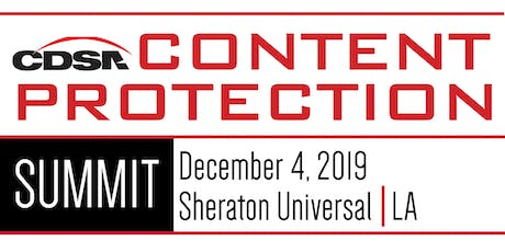 Content Protection Summit 2019 tickets