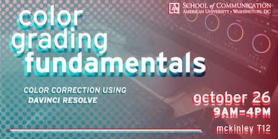 Color Grading Fundamentals Master Class