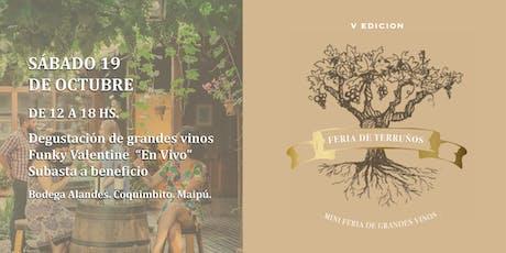 FERIA DE TERRUÑOS Karim Mussi Winemaker entradas