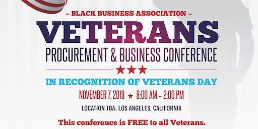 Black Business Association Veterans Procurement & Business Conference