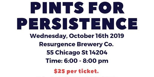 Pints for Persistence Fundraiser
