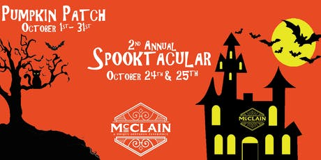 McClain Resort's 2nd Annual Spooktacular tickets