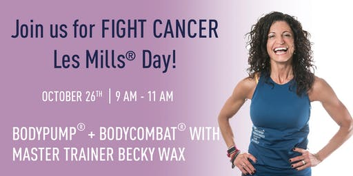 In-Shape FIGHT CANCER Les Mills Event - Vacaville