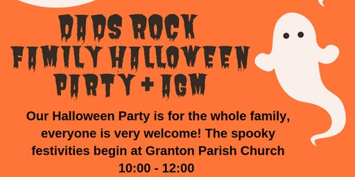 Dads Rock Halloween Family Party/AGM