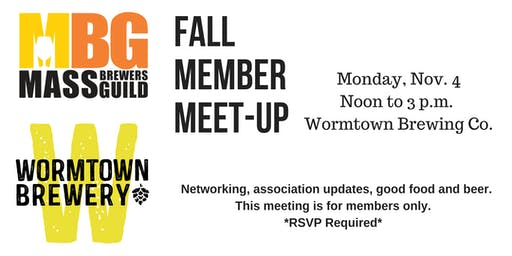 MBG Fall Member Meet-up