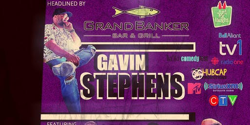 Live Comedy Show featuring Gavin Stephens!