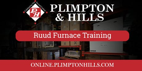 Ruud Gas Furnace Training tickets
