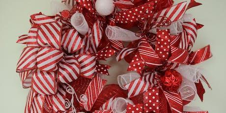 Candy Cane Wreath - BYOB tickets