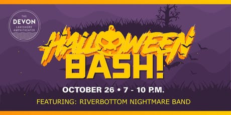 The Devon Halloween Bash featuring Riverbottom Nightmare Band tickets