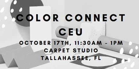 Tallahassee Color Connect CEU tickets