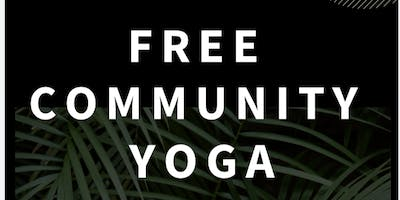 Free Community Yoga + Breakfast