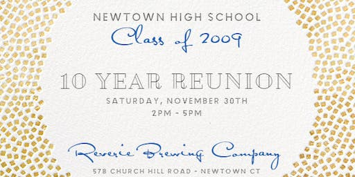 NHS Class of 2009 - Ten Year Reunion