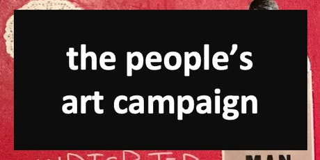 The People's Art Campaign - Wednesday, December 11th tickets