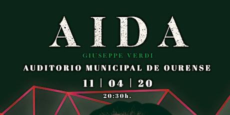 AIDA, G.Verdi en Ourense tickets